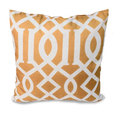 Tori Throw Pillow Color: Gold