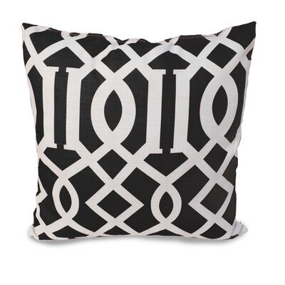 Tori Throw Pillow Color: Black