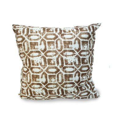 Emma Throw Pillow Color: Chocolate