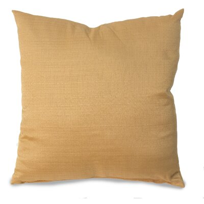 Parker Throw Pillow Color: Gold
