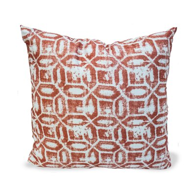 Emma Throw Pillow Color: Terracotta