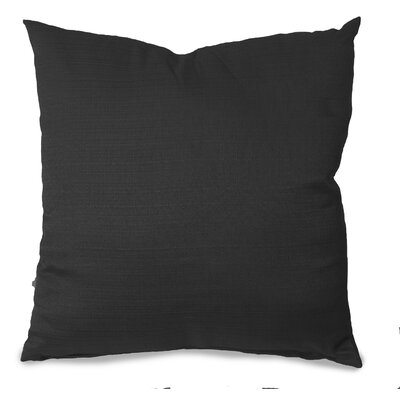 Parker Throw Pillow Color: Black