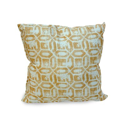Emma Throw Pillow Color: Gold