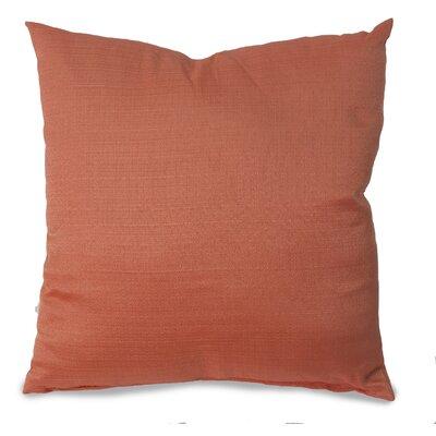 Parker Throw Pillow Color: Terracotta