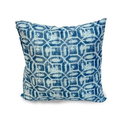 Emma Throw Pillow Color: Navy