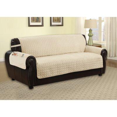 Sofa Slipcover Upholstery: Beige