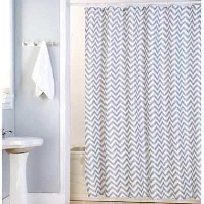 Nikki Canvas Shower Curtain