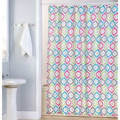 Elena Canvas Shower Curtain