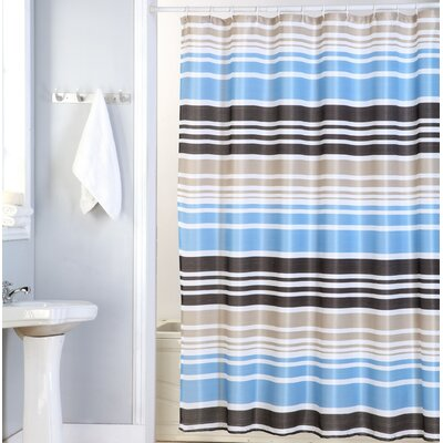 Charlie Canvas Shower Curtain