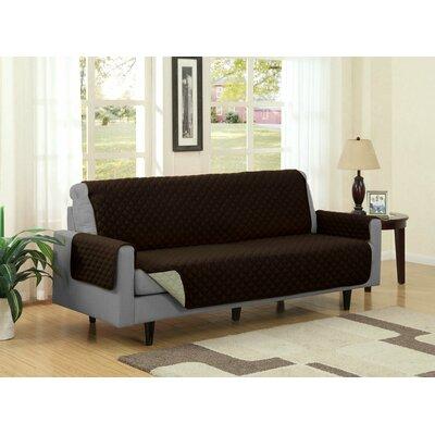 Sofa Slipcover Upholstery: Camel/Brown