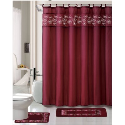 Kelly 15 Piece Shower Curtain Set