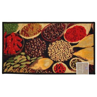 Spice Kitchen Mat Rug Size: 16 x 26