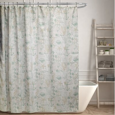 Haddam Canvas Shower Curtain