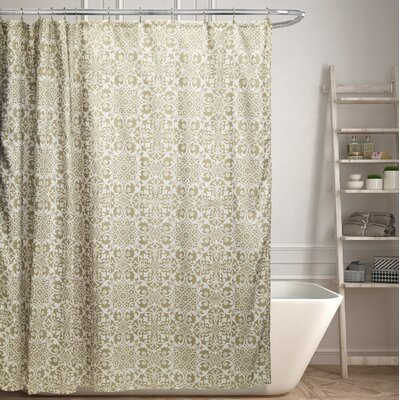 Moffet Canvas Shower Curtain