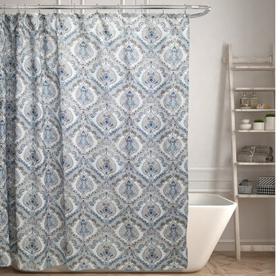 Moline Canvas Shower Curtain