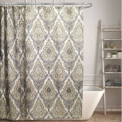 Mitchem Canvas Shower Curtain