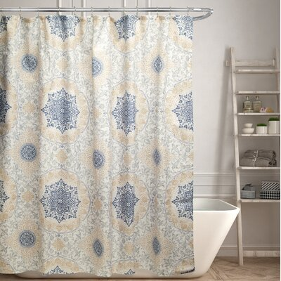 Minden Canvas Shower Curtain