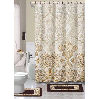 Raegan Shower Curtain Set