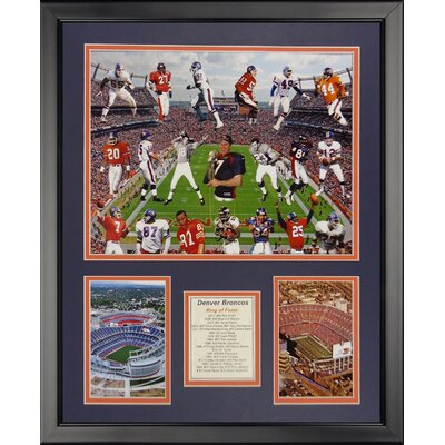 NFL Denver Broncos - Bronco Greats Framed Memorabili 20217U