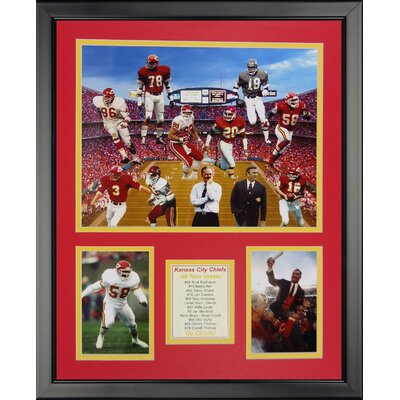 NFL Kansas City Chiefs - Chief Greats Framed Memorabili 20220U