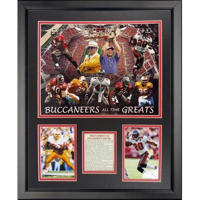 NFL Tampa Bay Bucaneers - Bucaneers Greats Framed Memorabili 20137U