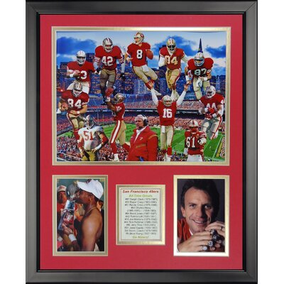NFL San Francisco 49ers - 49er Greats Framed Memorabili 20210U