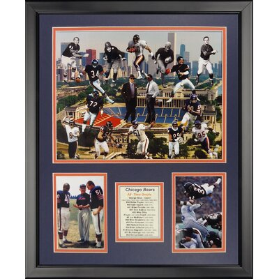 NFL Chicago Bears - Bear Greats Framed Memorabili 20214U