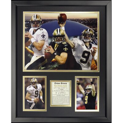 NFL New Orleans Saints - Drew Brees Collage Framed Memorabili 19948U