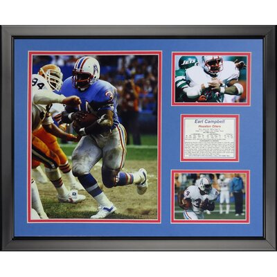 NFL Houston Texans - Earl Campbell Framed Memorabili 19950U