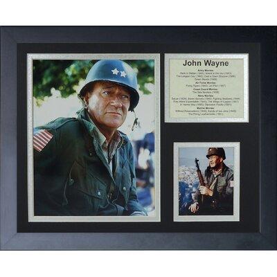 John Wayne - War Movies Framed Memorabili 16450U