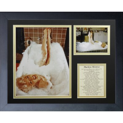 Marilyn Monroe Tub Framed Memorabili