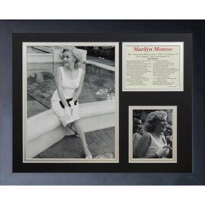 Image of Marilyn Monroe Fountain Framed Memorabili