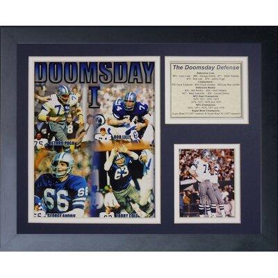 Dallas Cowboys Doomsday Machine Framed Memorabili 11574U