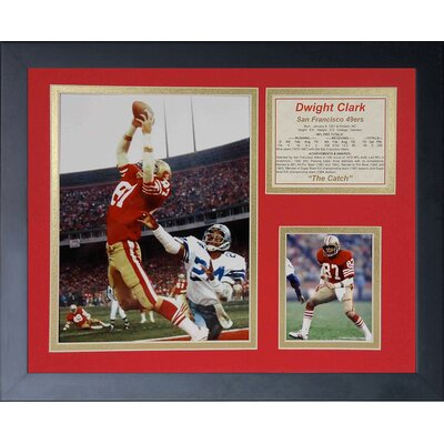 San Francisco 49ers Dwight Clark Catch Framed Memorabili 11430U