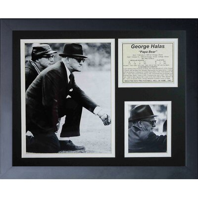Chicago Bears George Halas Framed Memorabili 11454U