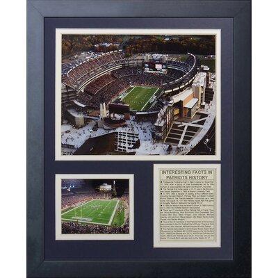 New England Patriots Gillette Stadium Framed Memorabili 11794U