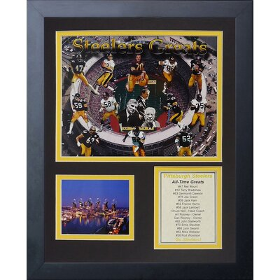 Pittsburgh Steelers Steeler Greats Framed Memorabili 11528U