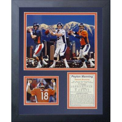 Denver Broncos Peyton Manning Framed Memorabili 11554U