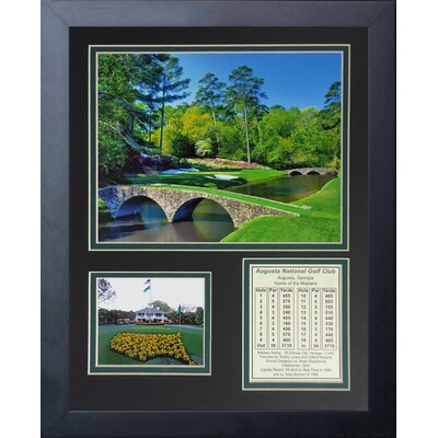 Augusta National Golf Course Framed Memorabilia