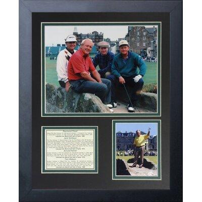 Raymond Floyd, Jack Nicklaus, Arnold Palmer, and Tom Watson Framed Memorabilia 12952U