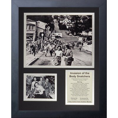 Invasion of The Body Snatchers by Legends Neve Framed Memorabilia 16408U
