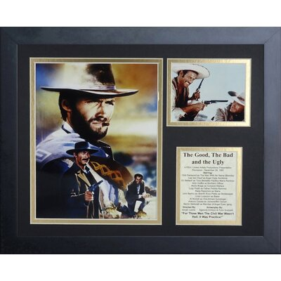 The Good Bad and the Ugly Framed Memorabilia