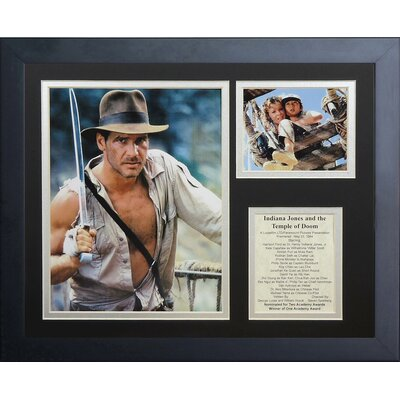 Indiana Jones Temple of Doom Framed Memorabilia 16202U