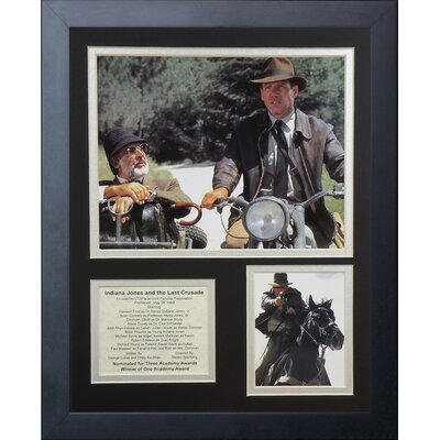 Indiana Jones The Last Crusade Framed Memorabilia 16203U