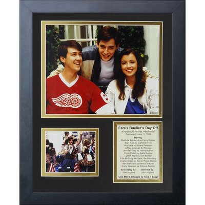 Ferris Bueller's Day Off Framed Memorabilia 16546U