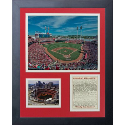 Cincinnati Reds - Great American Ballpark Framed Memorabilia 11319U