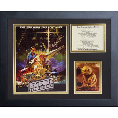 Star Wars The Empire Strikes Back Framed Memorabilia 16031U