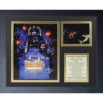 Star Wars The Empire Strikes Back Special Edition Framed Memorabilia 16032U