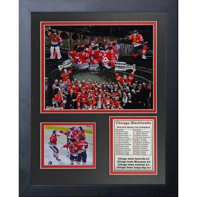 NHL Chicago Blackhawks 2015 Stanley Cup Champions Framed Memorabilia 12718U