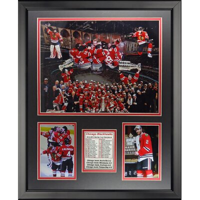 NHL Chicago Blackhawks 2015 Stanley Cup Champions Framed Memorabilia 19932U